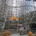 Twister Wooden Roller Coaster