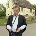 A visit by Aled Jones for 'Escape to the Country'