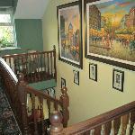Upstairs area