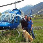 A unique helipad in the Similkameen Valley