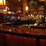 The cosy bar at closing time !