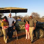 Great game drives... We thought Thomas was the best guide!