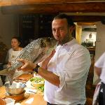 Chef Jean-Francois Berard's Cooking Class.