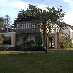 Vista e uno de los laterales de la Quinta