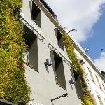 façade mur végétal Hôtel Concarneau