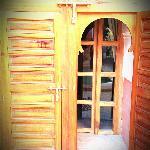 superbe porte d'entrée de notre suite