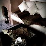 notre salon/cheminée