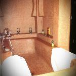 la salle de bain de notre suite