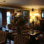 Lounge in the Pheasant Hotel