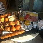 Room service breakfast (for two!)