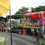 nearby Sat market