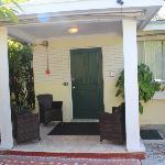 L'ingresso del cottage