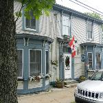 The front of Pelham House in Lunenburg, NS