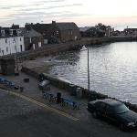 Views of Stonehaven Harbour and The Ship Inn