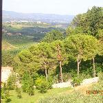 Vista da janela do ap.05 - Le Romite