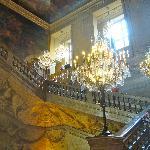 main stairway in Lyon Hotel de Ville