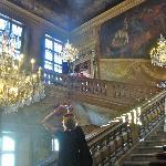 main stairway Lyon Hotel de Ville