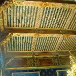 a ceiling in Lyon Hotel de Ville