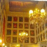 a hallway in Lyon Hotel de Ville