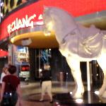 Entrance to P.F. Chang's - Planet Hollywood.