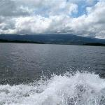 Crossing Arenal Lake to Monterverde, St Elena,CR