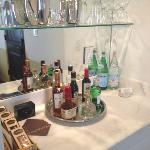 great mini bar in room