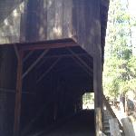 Covered Bridge for walking and horses
