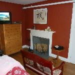 False fireplace
