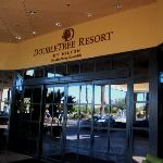 Double Tree Entrance