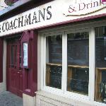 Entrance to the Coachman's Hotel and Restaurant