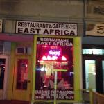 East Africa resturaunt, home cooking