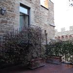 Private terrace, room 505!