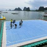 The floating Soccer Field- Koh Panyee Phang Nga Trip