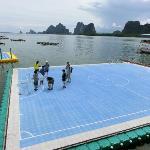 The floating Soccer Field- Koh Panyee Phang Nga Trip