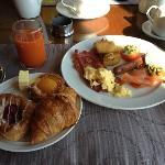 エグゼクティブラウンジ朝食