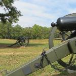Cannon at Cold Harbor