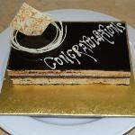 Leela Palace - Gâteau offert pour notre lune de miel