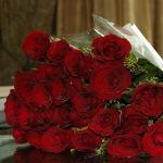Leela Palace - Mon bouquet de roses pour notre lune de miel