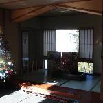 館内入口(クリスマス時期)