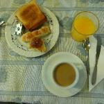 un buen desayuno