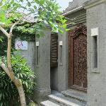 Villa Alex front door