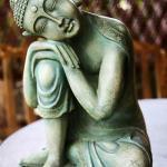 """Petite statuette dans la chambre """"veranda"""""""