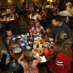Enjoy dining for the entire family at Elf Hollow Cafe inside Zehnder's Splash Village