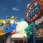 Awesome Simpsons 4D ride