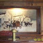 Old Talbott Tavern stagecoach painting