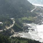View from the top of Cape Perpetua
