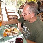 Roberto en cena