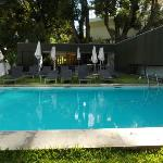 The fabulous outdoor pool