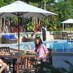 Lunch by our Pool from 4 Estaciones
