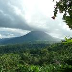 View of Arenal Volcano from everywhere